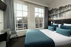 Chambre double vue canal